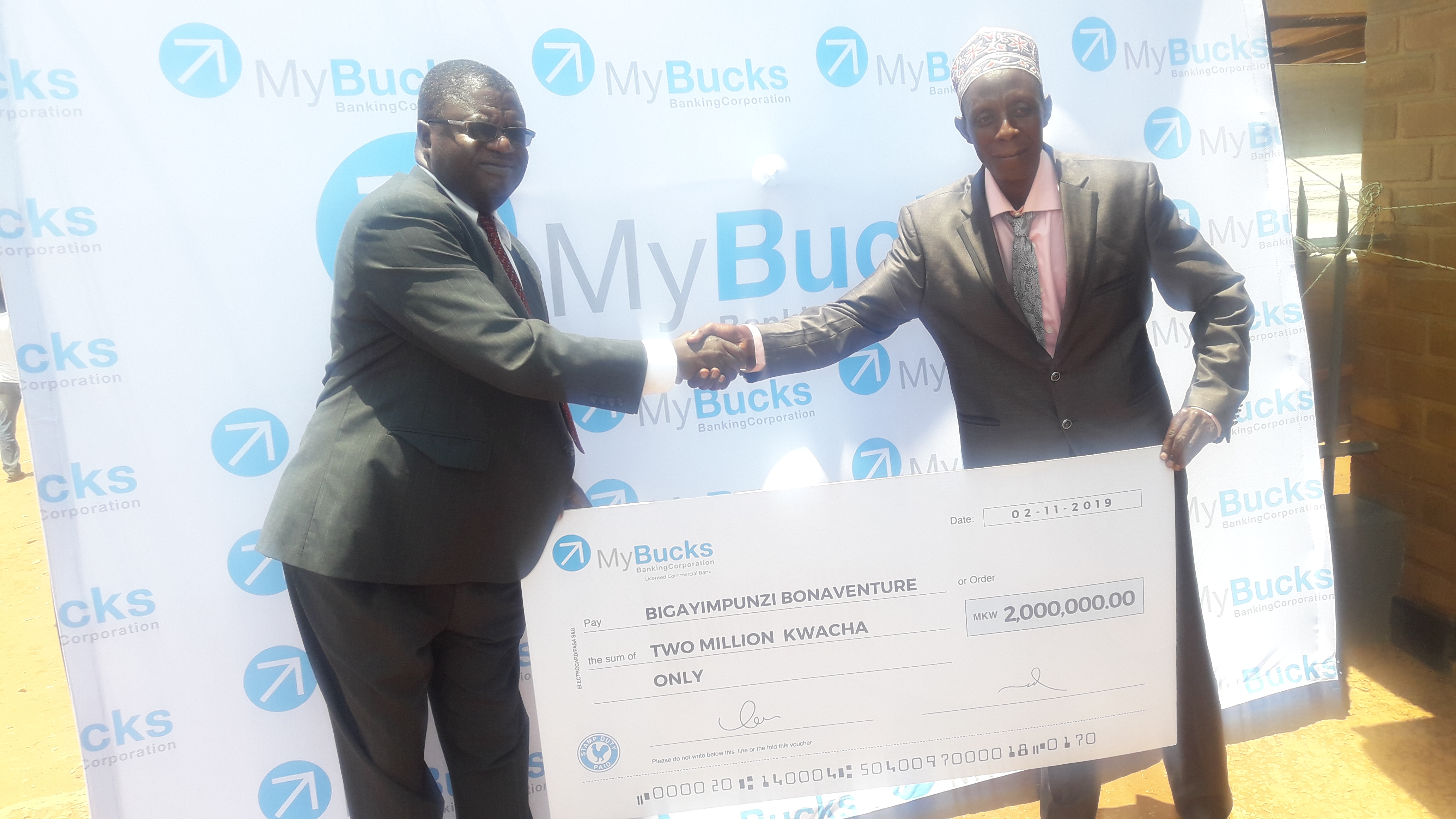 Mybucks turns a refugee into a millionnaire in Cashpendence promo