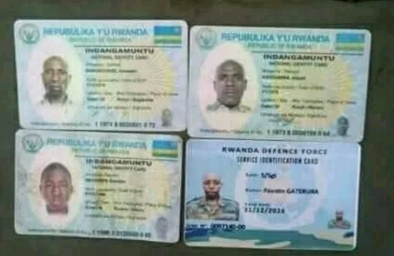 Uniforms, IDs Belonging To Rwandan Army Found in ADF Camps After Strike By DR Congo