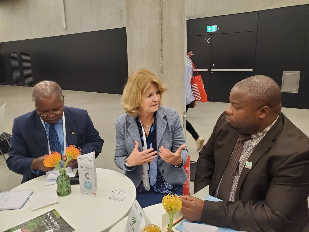 Nankhumwa in Berlin for food Conference