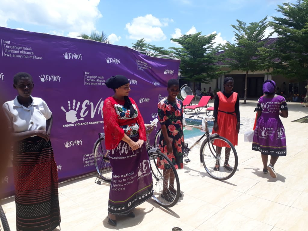 Oxfam impressed withEVAWG Projectat Abida Mia Constituency