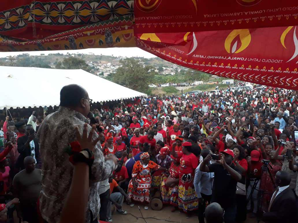 """MCP VP Sidik Mia Re-Articulates """"Malawi First"""" Philosophy During Tonse Alliance Youth Rally"""