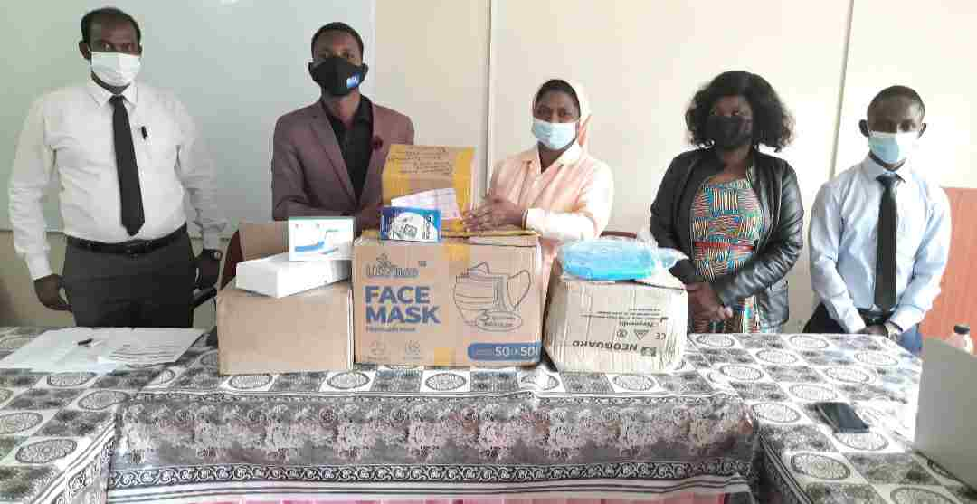 DMI University donate PPEs to Bwaira Hospital