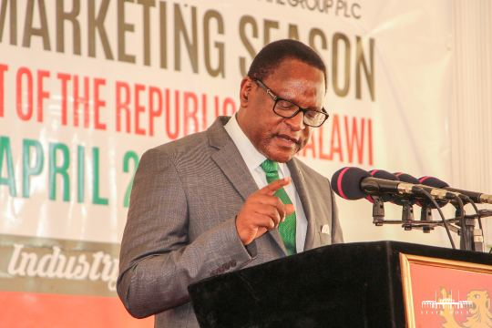 """Malawi needs to wean Off tobacco,"" says President Chakwera"